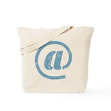 """at"" Sign Tote Bag"
