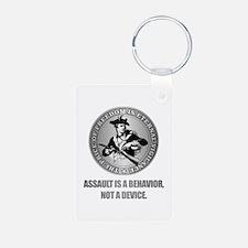 (Eternal Vigilance) Assault Is A Behavoir Keychain