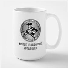 (Eternal Vigilance) Assault Is A Behavoir Mugs