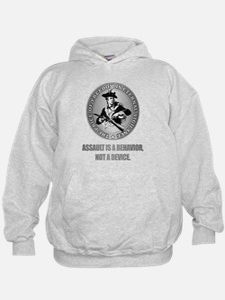 (Eternal Vigilance) Assault Is A Behavoir Hoodie