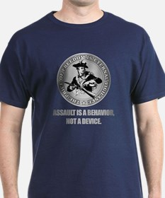 (Eternal Vigilance) Assault Is A Behavoir T-Shirt