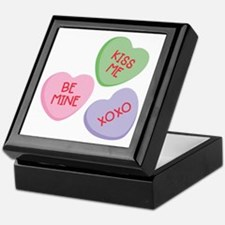 Kiss Me Heart Candy Keepsake Box