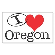 I <3 Oregon Decal