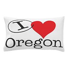 I <3 Oregon Pillow Case