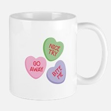 Nice Try Heart Candy Mugs