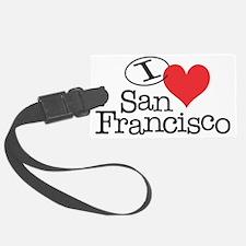 I <3 San Fransisco Luggage Tag