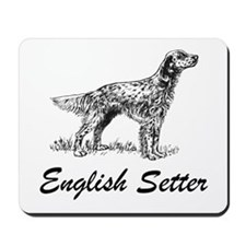 English Setter Mousepad