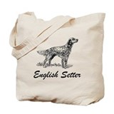 English setter Bags & Totes