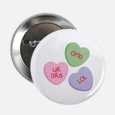 "LOL Heart Candy 2.25"" Button"