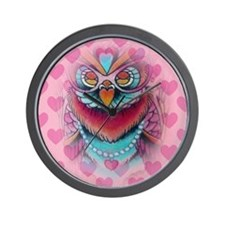 Owl Cute Wall Clock