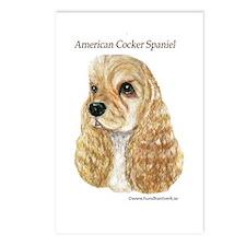 American Cocker Spaniel Postcards (Package of 8)