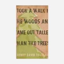 Thoreau Walk In The Woods Quot Decal
