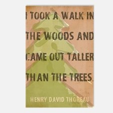 Thoreau Walk In The Woods Postcards (Package of 8)