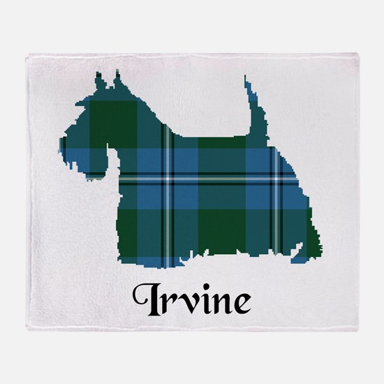 Terrier - Irvine Throw Blanket