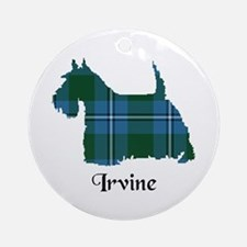 Terrier - Irvine Ornament (Round)
