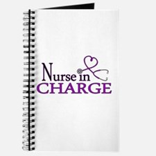 Nurse in Charge - Purple Journal