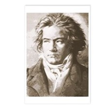 Beethoven In Sepia Postcards (Package of 8)