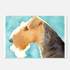 Airedale Terrier Postcards (Package of 8)