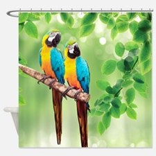 Macaws Shower Curtain