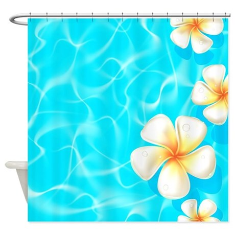 Tropical Ocean Shower Curtain by BestShowerCurtains