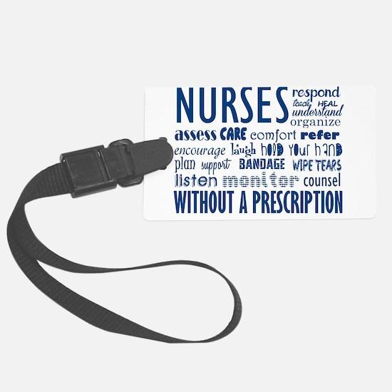 nurses Luggage Tag