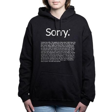 Sorry* Hooded Sweatshirt