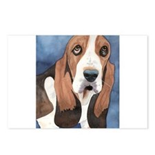 Basset Hound Stuff Postcards (Package of 8)