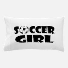 Soccer Girl Pillow Case