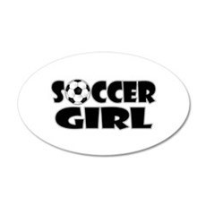 Soccer Girl Wall Decal