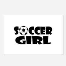 Soccer Girl Postcards (Package of 8)