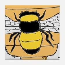 Bee yourself 2 Tile Coaster