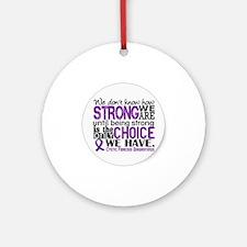 CF awareness Ornament (Round)