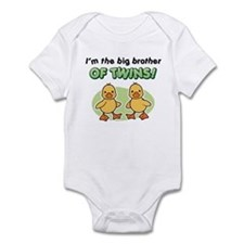 Big Brother of twins - Ducks Infant Bodysuit