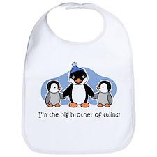 Big Brother of Twins (Penguin Bib
