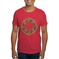 Morel Mushrooms Smiley face: T-Shirt