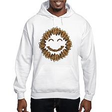 Morel Mushrooms Smiley face: Hoodie