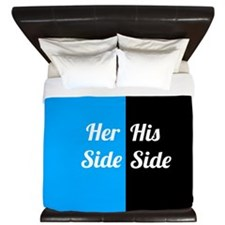 His Side Her Side 5 King Duvet