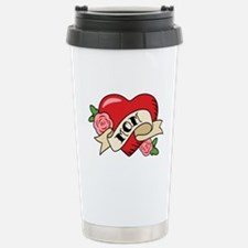 Mom Heart Travel Mug