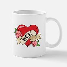 Mom Heart Mugs