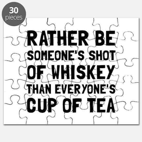 Shot Of Whiskey Puzzle