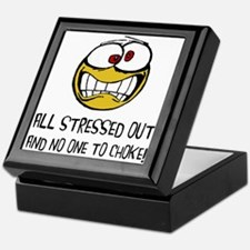 Stressed Out Keepsake Box