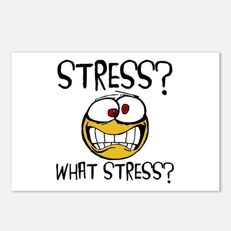 What Stress Postcards (Package of 8)