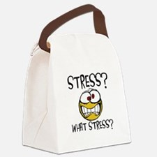 What Stress Canvas Lunch Bag