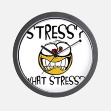 What Stress Wall Clock