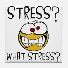 What Stress Tile Coaster