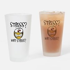 What Stress Drinking Glass
