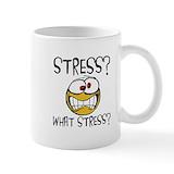 Funny stress Standard Mugs (11 Oz)