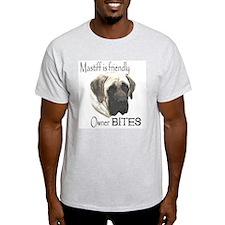 Dion's Grace Mastiff Ash Grey T-Shirt