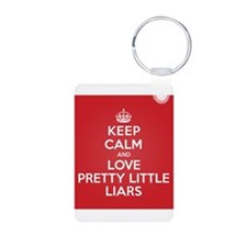 K C Love Pretty Little Liars Keychains
