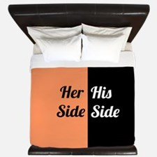 His Side Her Side 10 King Duvet